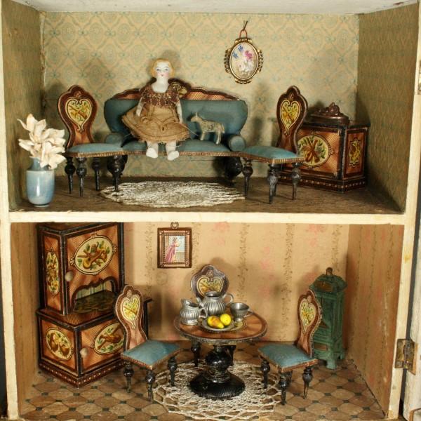Le petit monde des maisons de poup es anciennes achat for Maison de la poupee